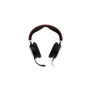Headset med sladd - Headset Jabra Evolve 80 MS stereo 3,5mm (USB tillval)