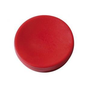 Magnetknapp Actual Röd, 16mm, 10/fp