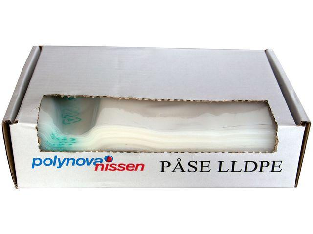 Plastpåse 250x325mm ca 2,5L 22my 2000/FP