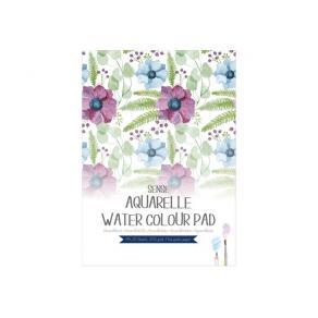 Akvarellblock pad A4 200g