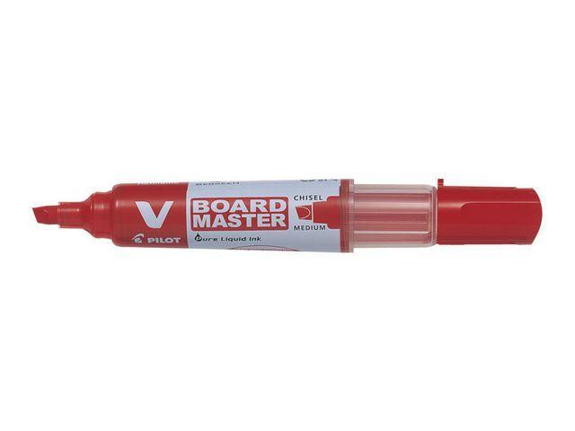 Whiteboardpenna PILOT V Board Röd, sned