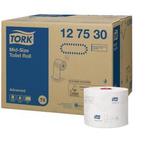 Toalettpapper TORK Advanced T6 100m/rl 27/FP
