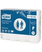 Toalettpapper TORK Advanced T4, 2-lag, 24/FP