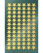 Stickers stjärnor guld 144/fp