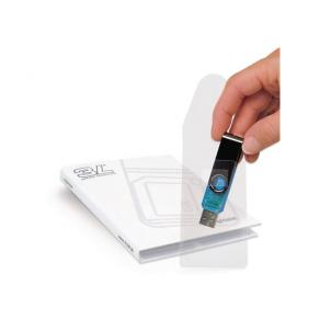 USB-ficka självhäftande 10/FP
