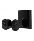 Arlo VMS5240 - Sats med kameror - trådlös - 2 kameror - svart