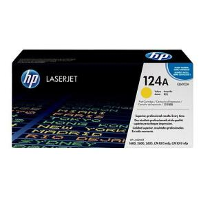 Toner HP Q6002A 124A Gul