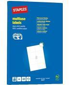 Etikett STAPLES 105x74mm 800/FP