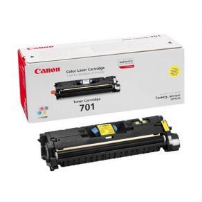 Canon 701 - Gul - original - tonerkassett - för