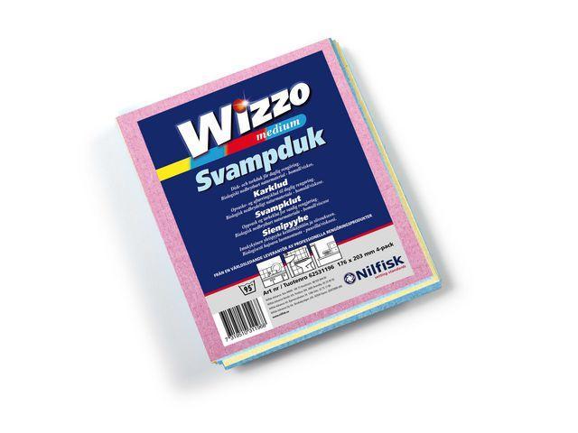 Disktrasa Wizzo Clean M, sorterade färger, 4/fp