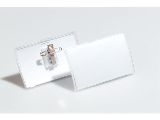 Namnskylt Clic Fold, 75x40mm, 25/fp