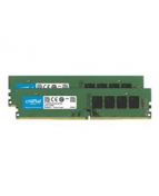 Crucial - DDR4 - kit - 16 GB: 2 x 8 GB - DIMM 288-pin - 2666 MHz