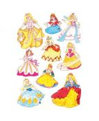 Herma stickers Decor prinsessor (3)