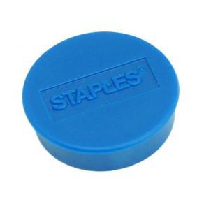 Magnetknappar STAPLES 25mm blå 10/FP