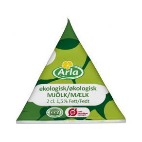 Kaffemjölk ARLA Eko, 1,5%, 2cl, 100/FP
