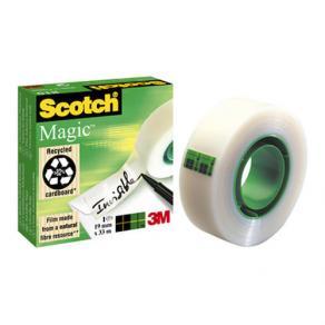 Dokumenttejp Scotch Magic 810, osynlig, 19mm x 33m