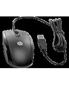HP Essential - Mus - höger- och vänsterhänta - optisk - 3