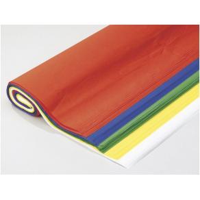 Silkespapper, sorterade färger, 50x70cm, 125 ark/fp