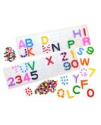 Pärlplatta ABC/Siffror, 5/fp