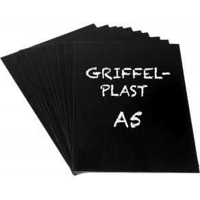 Griffelplast A5 svart 10/FP