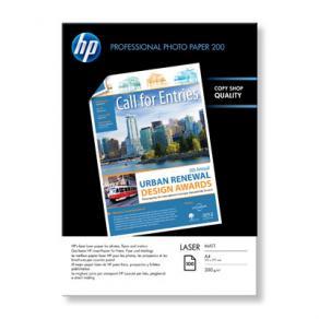 Fotopapper Laser HP Professional, A4, matt, 200g, 100/fp