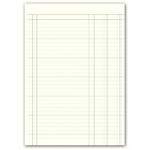 Bokföringsbok 156I, A4, 2 kolumner, 96 sidor
