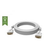 VISION Professional installation-grade VGA patch cable - gold