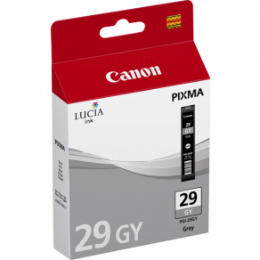 Bläckpatron CANON PGI-29GY grå