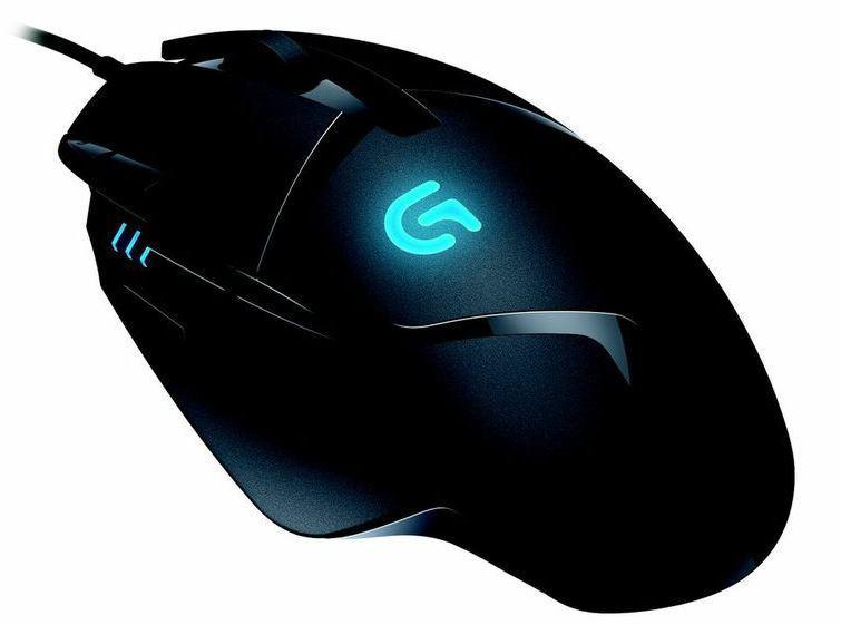 Logitech G402 Optical Gaming Mouse, Black
