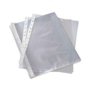 Plastficka A5, präglad, 0,06mm, 100st