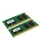 Crucial - DDR3L - sats - 8 GB: 2 x 4 GB - SO DIMM 204-pin - 1600