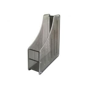 Tidskriftsamlare A4 Nät Silver, metall, 85x285x335mm