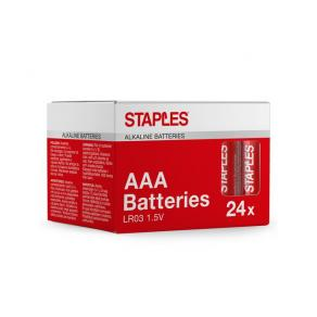 Batteri STAPLES AAA 24/FP