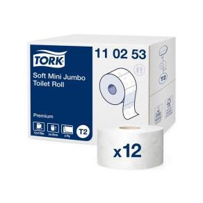 Toalettpapir TORK Premium 2L T2 170m(12