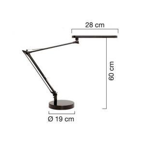 Bordslampa Unilux Mambo LED grå