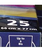 Plastpåse till Rexel 115L 100/FP