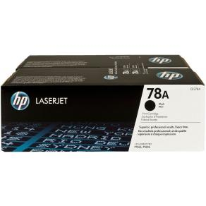HP 78A - 2-pack - svart - original - LaserJet