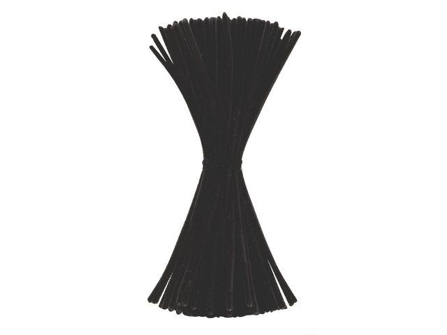 Piprensare Svart, 30cm, 100/fp