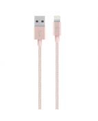 MIXIT Metallic Lightning to USB Cable, Rose Gold (1,2m)