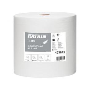 Industritorkrulle KATRIN Plus XL2 Vit, 2-lag, 380m, 2rl