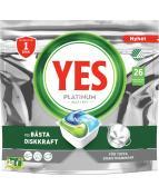 Yes Platinum maskindisk 26-p