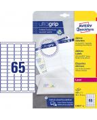 Etikett QuickPEEL 38,1x21,2 1625/FP