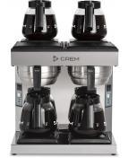 Kaffebryggare CREM Coffee Queen DM-4, 4 värmeplattor, 4x1.8L, 3-fas