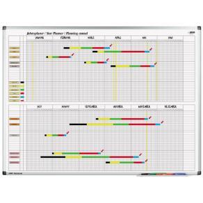 Planeringstavla Legamaster Årsplan 4150, 120x90cm