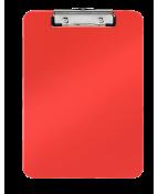 Skrivplatta A4 PP röd