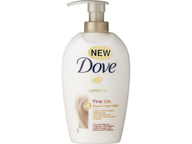 Tvål DOVE Cream Wash Silk 0,25L 12st
