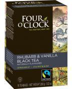 Te svart rabarber vanilj 16/fp