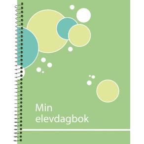 Dagbokskalender Min Elevdagbok Grön