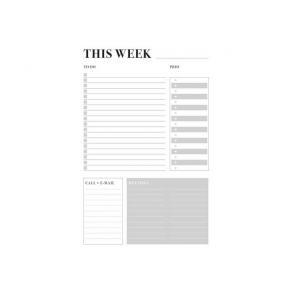 Weekly plan Do it, Office -7336
