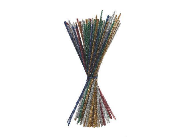 Piprensare Glitter Mix, 30cm, 90/fp